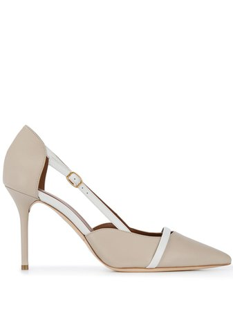 Malone Souliers, Marlow pointed-toe Pumps