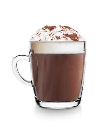 Transparent Hot Chocolate