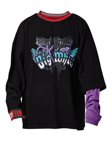 Big Wheel Shirt Black – SKOOT APPAREL