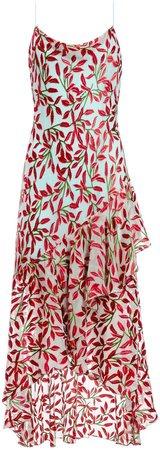 Ginger Cowl Neck Midi Dress