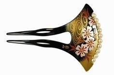 Japanese kanzashi hairsticks