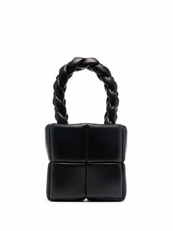 Shop A.W.A.K.E. Mode Celia braided-handle tote bag with Express Delivery - FARFETCH