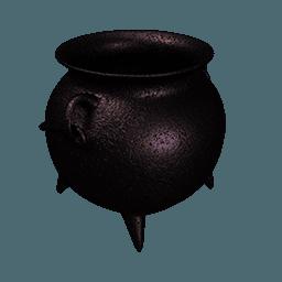 Cauldron empty Icon | Sweet Halloween Iconset | Thomas Veyrat