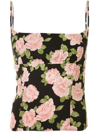 Reformation | Grace floral-print cami top