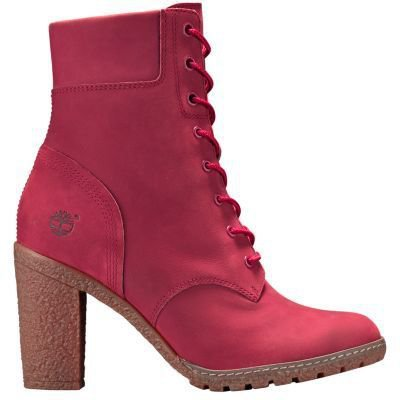 Women's Ruby Red Glancy 6-Inch Boots