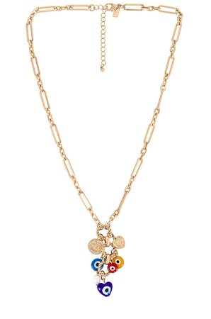8 Other Reasons Evil Eye Necklace in Gold | REVOLVE