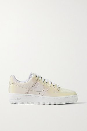 Air Force I Reflective Shell Sneakers - White