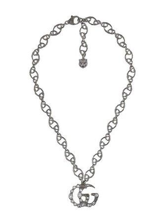 Gucci Collar Con Dije De Doble G - Farfetch