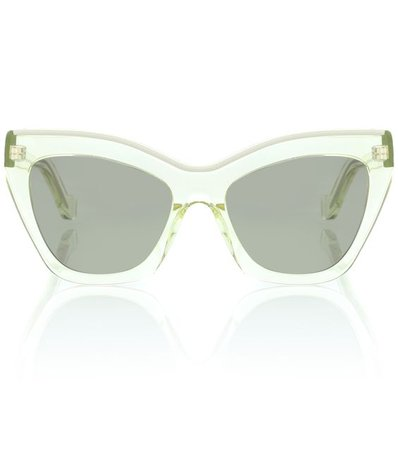 LOEWE Oversized cat-eye sunglasses