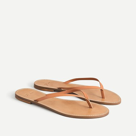 J.Crew: Capri Sandals In Leather For Women
