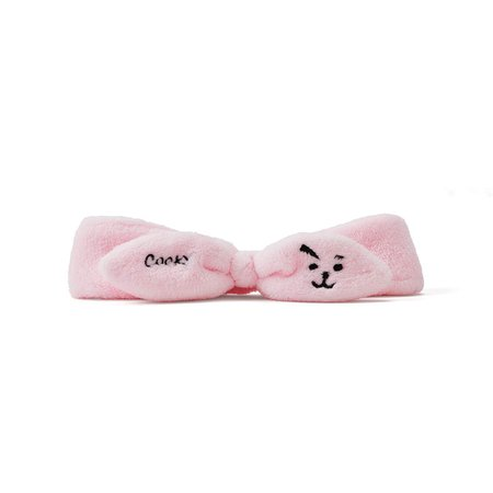Amazon.com : BT21 COOKY Character Soft Spa Face Makeup Headband Hair Band for Women and Girls, Pink : Beauty