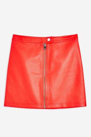 PU Mini Skirt | Topshop