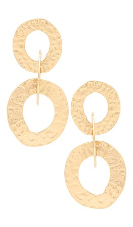 Ettika Multi Hoop Earrings in Gold | REVOLVE