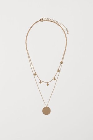 Double-strand Necklace - Gold-colored - Ladies | H&M CA