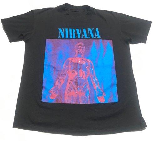 1992 NIRVANA SLIVER Promo Vintage T Shirt // Size Large | Etsy
