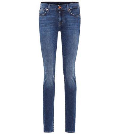 Roxanne mid-rise skinny jeans