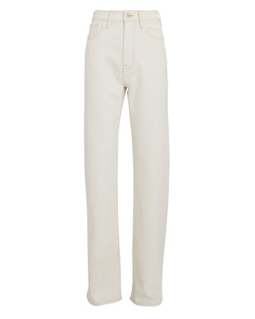 FRAME Le Jane Relaxed Straight-Leg Jeans | INTERMIX®