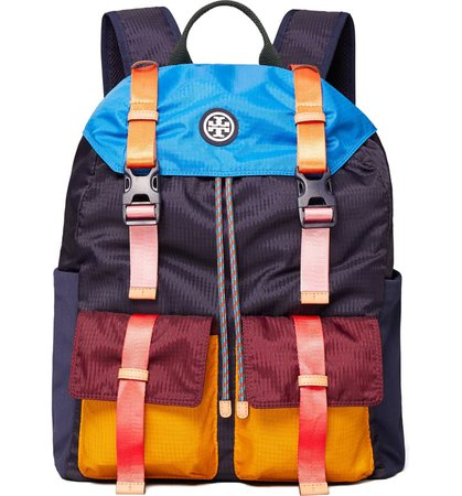 Tory Sport by Tory Burch Colorblock Backpack