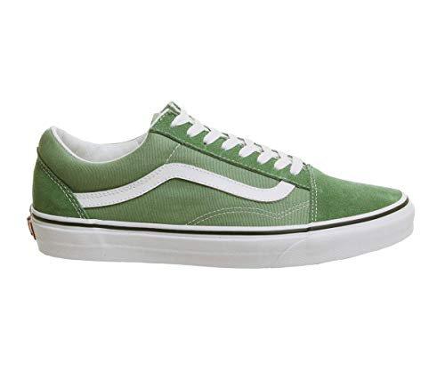 Amazon.com   Vans Unisex Old Skool DEEP Grass Green/True White Mens 6/Womens 7.5   Fashion Sneakers