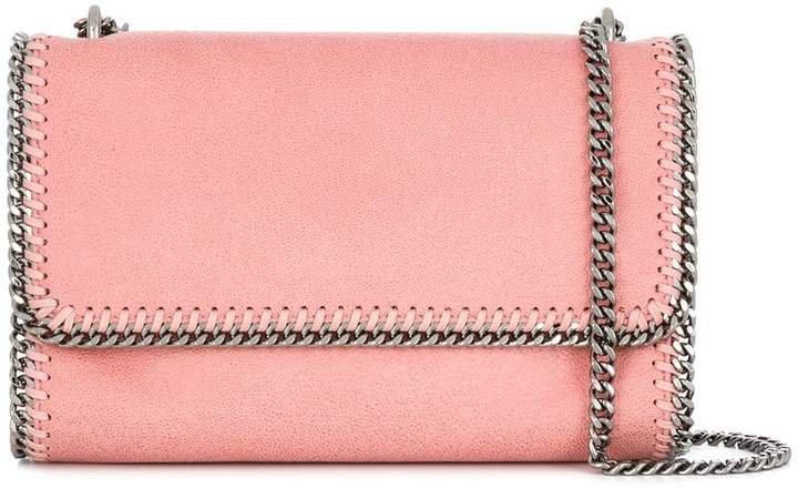 hardware embellished square bag