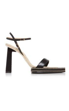 Les Novio Leather Sandals By Jacquemus | Moda Operandi