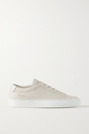 Achilles Leather Sneakers - Off-white
