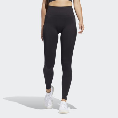adidas Seamless Tights - Black | adidas US