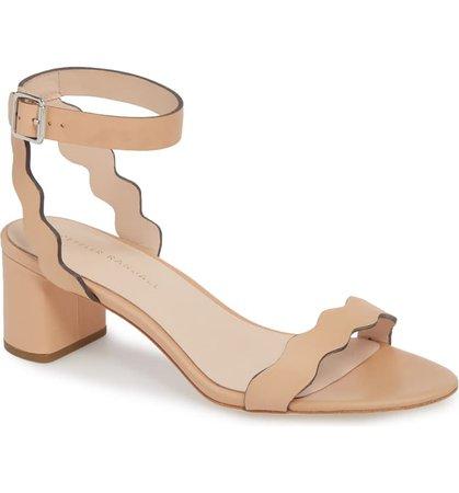 Loeffler Randall Emi Scalloped Sandal (Women) | Nordstrom