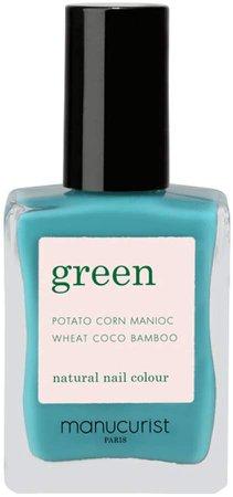 Green Nail Lacquer - Caraibes