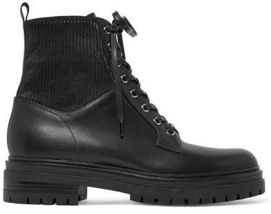 Ceonene 40 Leather Ankle Boots - Black