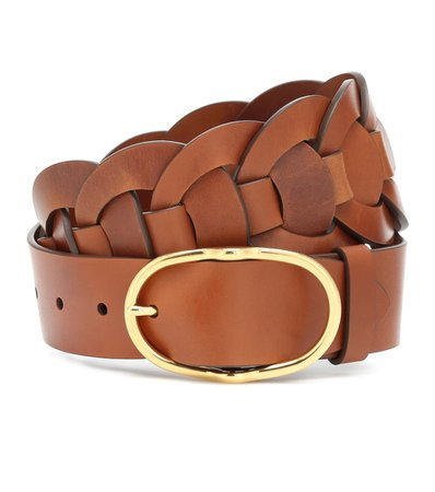 Miu Miu - Leather belt | Mytheresa