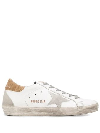 Golden Goose Superstar Leather Sneakers G36WS590S78 White | Farfetch