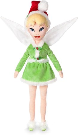 Tinker Bell Christmas Plushie Doll
