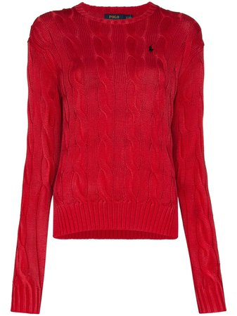 Polo Ralph Lauren cable-knit Jumper - Farfetch