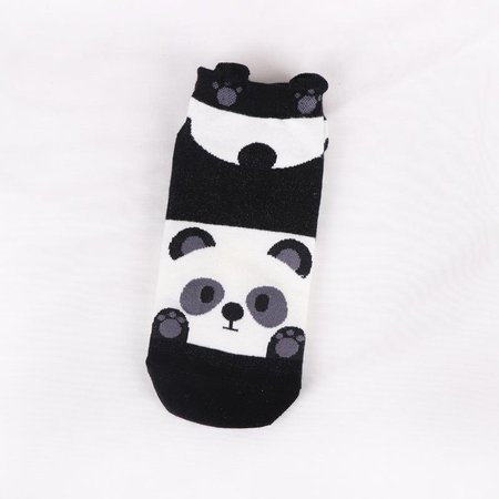 Fashion Cartoon Animal Patterned Short Socks Women Cute Panda Funny Low Socks 3D Ankle Socks-buy at a low prices on Joom e-commerce platform