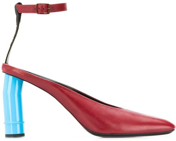 Sculpted Heel Pumps