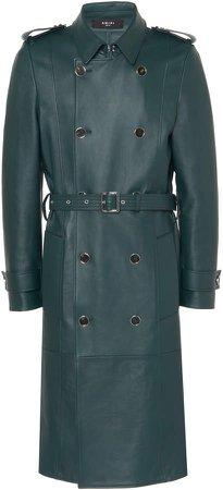 Amiri Leather Trench Coat