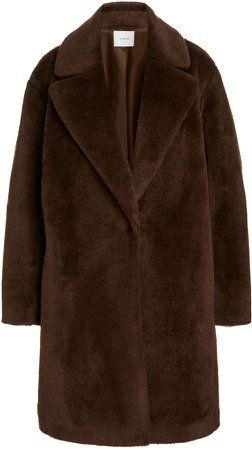 Vince Faus-Shearling Coat