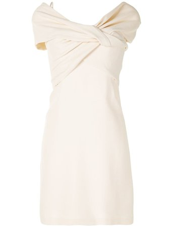 Giambattista Valli Draped Panel Mini Dress - Farfetch