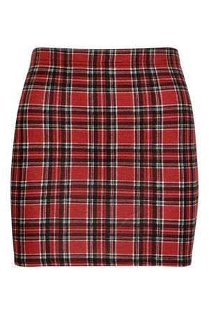 Tartan Check Mini Skirt | Boohoo