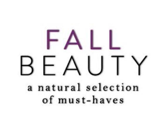 fall beauty text