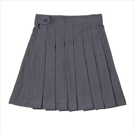 Grey Uniform Skirt