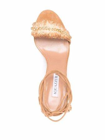 Aquazzura Isla 85mm Sandals - Farfetch