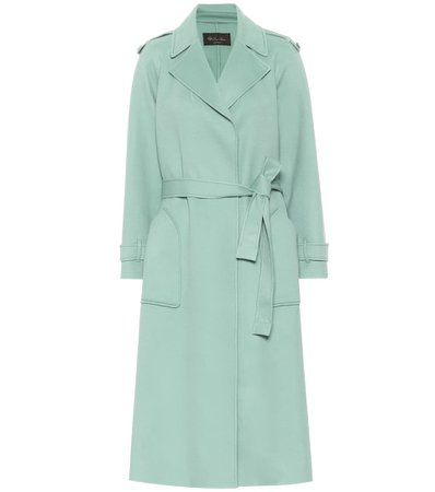 Cashmere Trench Coat | Loro Piana - Mytheresa