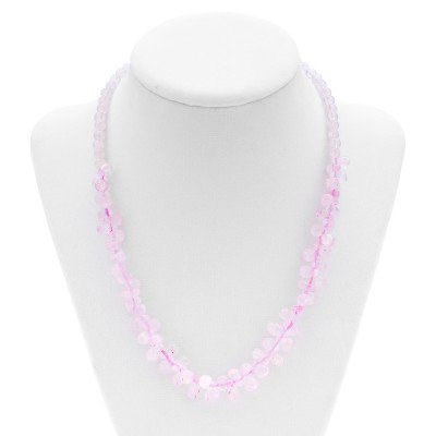 Rose Quartz Handmade Necklace | Mystic Self LLC