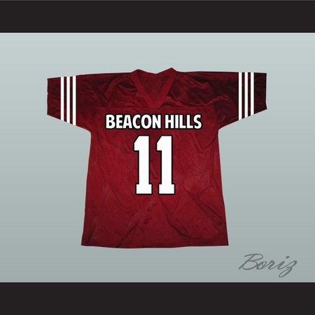 Scott McCall 11 Beacon Hills Lacrosse Jersey Teen Wolf TV Series New