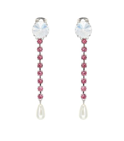 Exclusive To Mytheresa – Embellished Clip-On Earrings - Miu Miu | Mytheresa