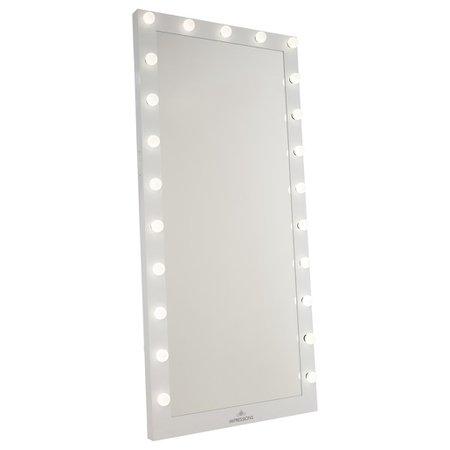 Hollywood Iconic® Full-Length Vanity Floor Mirror •Impressions Vanity Co.