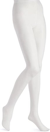 EMEM Apparel Women's Plus Size Queen Opaque Footed Tights at Amazon Women's Clothing store