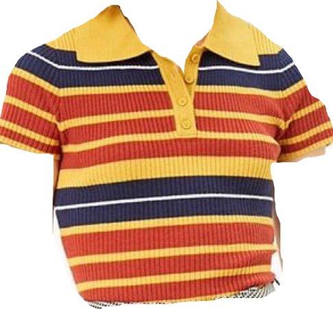 70s striped shirt